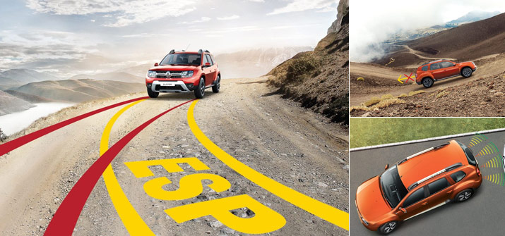 Renault Duster - Big on Safety